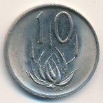 ЮАР, 10 центов (1988 г.)