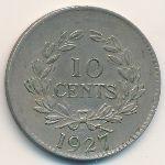 Саравак, 10 центов (1927 г.)