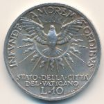 Ватикан, 10 лир (1939 г.)