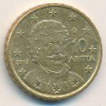 Греция, 10 евроцентов (2013 г.)