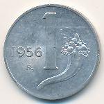 Италия, 1 лира (1954–1993 г.)