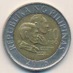 Филиппины, 10 песо (2000–2006 г.)
