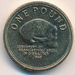 Гибралтар, 1 фунт (2009 г.)