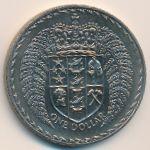 Новая Зеландия, 1 доллар (1975 г.)