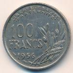 Франция, 100 франков (1956 г.)
