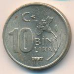 Турция, 10000 лир (1997 г.)