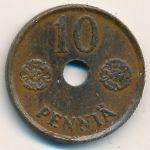 Финляндия, 10 пенни (1941–1942 г.)