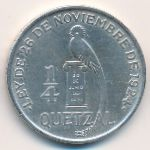Гватемала, 1/4 кетсаля (1926 г.)