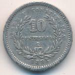 Уругвай, 10 сентесимо (1893 г.)