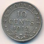 Ньюфаундленд, 10 центов (1912 г.)