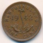 Ньюфаундленд, 1 цент (1941–1943 г.)