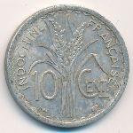 Французский Индокитай, 10 центов (1945 г.)