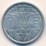 Реюньон, 1 франк (1964 г.)