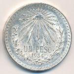 Мексика, 1 песо (1934 г.)