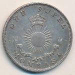 Момбаса, 1 рупия (1888 г.)
