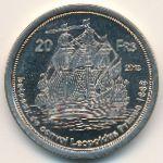 Остров Тромлен, 20 франков (2013 г.)