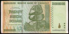 Зимбабве, 20000000000 долларов (2008 г.)