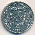 Западная Африка, 50 франков (1976 г.)