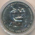 Канада, 1 доллар (1988 г.)