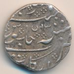 French India, 1 rupee, 1764–1807