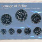 Белиз, Набор монет (1980 г.)