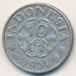 Индонезия, 10 сен (1951–1954 г.)