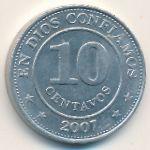Никарагуа, 10 сентаво (2007 г.)