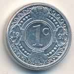 Антильские острова, 1 цент (1991 г.)