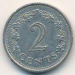 Мальта, 2 цента (1972 г.)