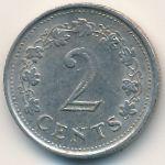 Мальта, 2 цента (1977 г.)