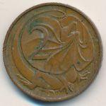 Австралия, 2 цента (1966–1984 г.)