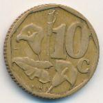 ЮАР, 10 центов (1996–2000 г.)