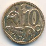 ЮАР, 10 центов (1997 г.)