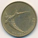 Словения, 2 толара (1993–2001 г.)