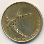 Словения, 2 толара (1993 г.)