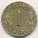Исландия, 1 крона (1946 г.)