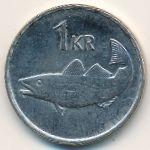 Исландия, 1 крона (1996 г.)