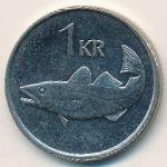 Исландия, 1 крона (1999 г.)