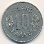Исландия, 10 крон (1969 г.)