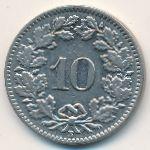 Швейцария, 10 раппенов (1939 г.)
