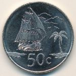 Tokelau, 50 cents, 2017