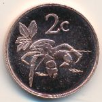 Tokelau, 2 cents, 2017
