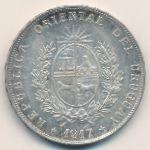 Уругвай, 1 песо (1917 г.)