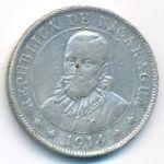 Никарагуа, 25 сентаво (1914 г.)