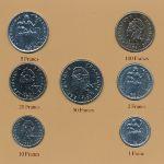 Французская Полинезия, Набор монет