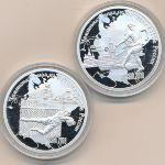 Камерун, Набор монет 1 (2017 г.)