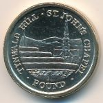 Остров Мэн, 1 фунт (2007 г.)