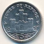 Остров Мэн, 5 пенсов (2007 г.)