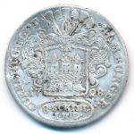 Гамбург, 8 шиллингов (1728 г.)