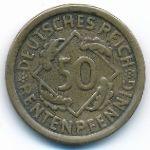 Веймарская республика, 50 рентенпфеннигов (1923–1924 г.)